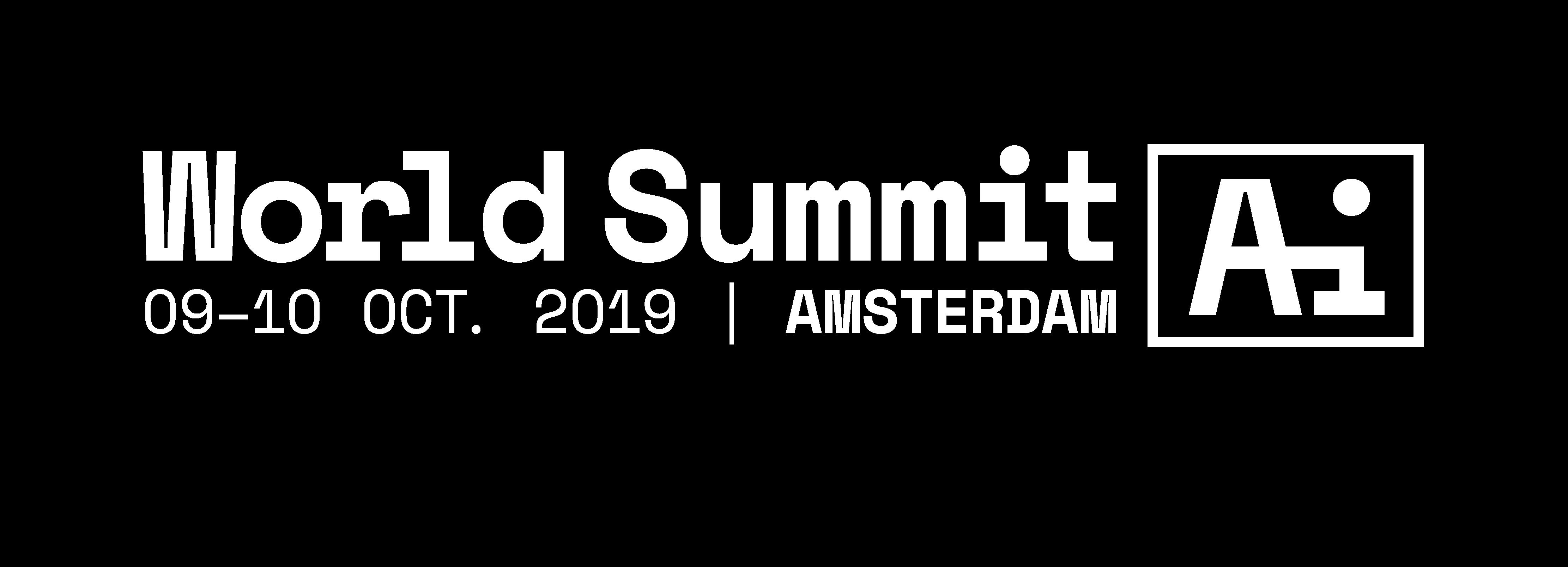 World Summit AI | The World's Leading AI Summit | Oct 2019 | Amsterdam